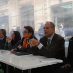 Da sinistra a destra Manfredi Nappi, Lucilla Parlato, Stefano Pisani, Lucio Mauro e Elio Avossa
