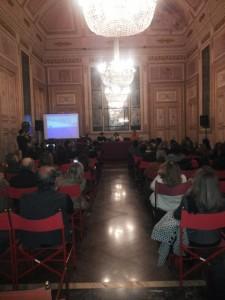 La presentazione del libro a Palazzo Serra di Cassano