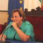 La Tommasielli in lacrime durante la sua conferenza stampa