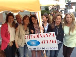 Sette meravigliose socie di Cittadinanza a Piazza Santa Caterina a Chiaia