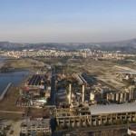 Panorama di Bagnoli prima dell'incendio di Città della Scienza