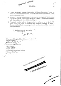 Pagina 5, approvazione all'unanimità