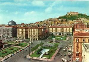 Piazza Municipio com'era prima dell'intervento di Alvaro Siza