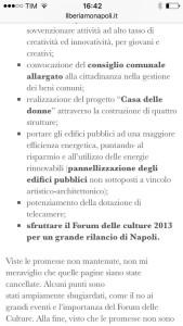 Il programma elettorale 2011 di De Magistris (3)