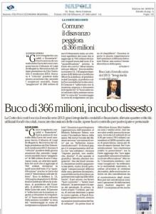 L'articolo de la Repubblica