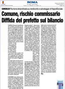 L'articolo del Roma di oggi