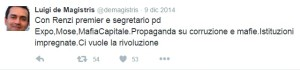 tweet dema_05 Con Renzi premier