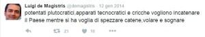 tweet dema_14 Potentati plutocratici