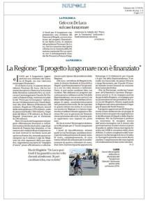 L'articolo di Repubblica del 12.10.2016 che sconfessa De Magistris