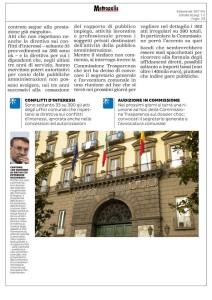 Metropolis, l'articolo del 9.11.2016 (3)